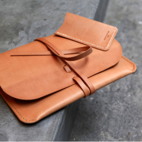 Kenton Sorenson leather iphone and iPad cases