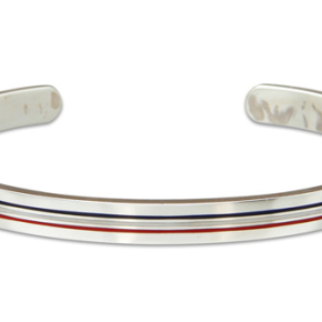 Thom Browne silver bangle