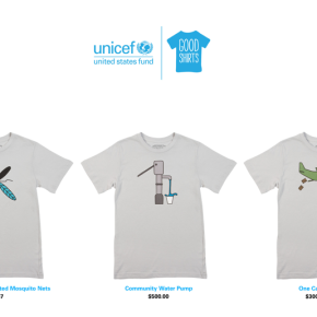 Threadless sells $300,000 t-shirt to raise money for UNICEF