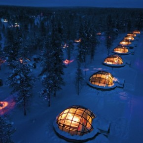 The Glass Igloos