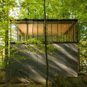 Wild Watchtower: Forest Studio &amp; Library Space