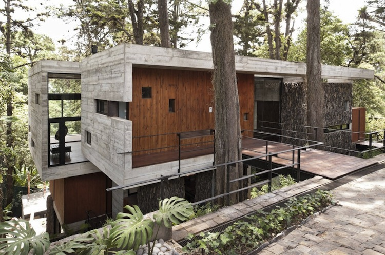 Beautiful treehouse in santa rosalia forest guatemala for Houses built in trees