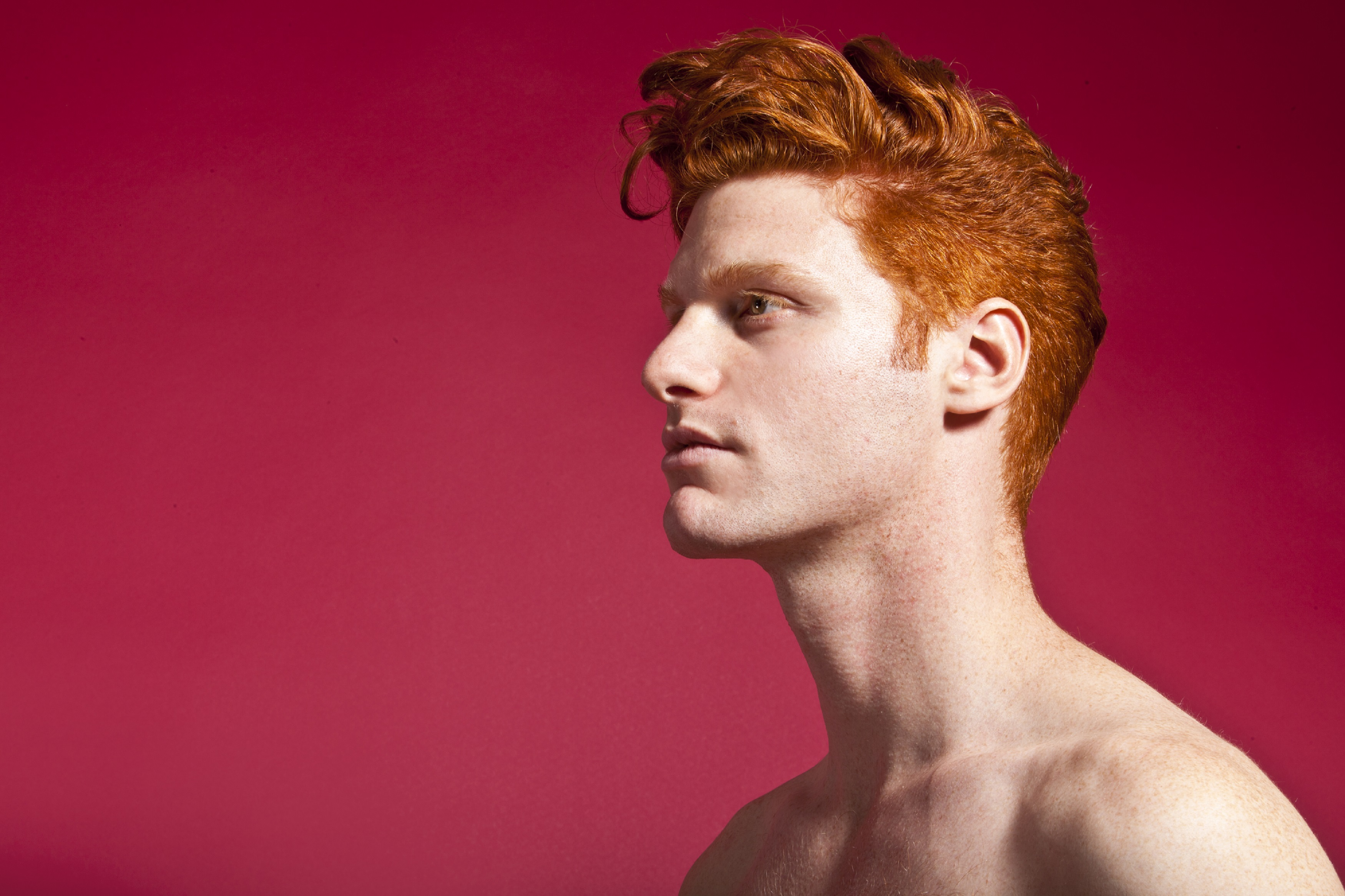 Red Hot Exhibition Celebrates The Ginger Male