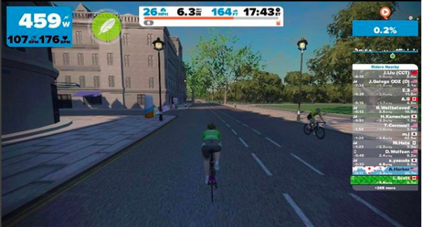 How Zwift Gave Me Back Cycling
